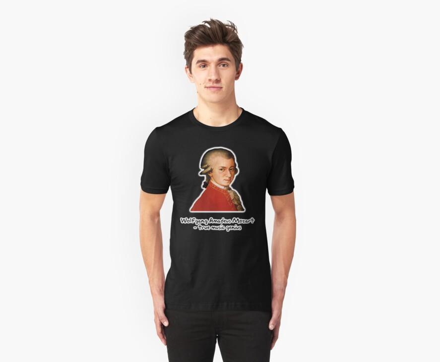 Wolfgang Amadeus Mozart by Peter Pesta
