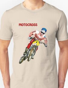 Motocross Red T-Shirt