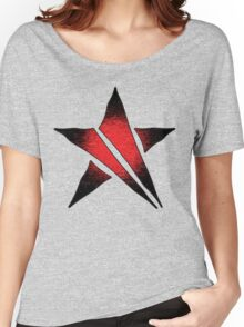 The Shattered Star (Red Alt 2) Women's Relaxed Fit T-Shirt