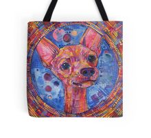 Watchdog (Chihuahua) painting - 2015 Tote Bag
