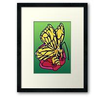 Flutter-Bee Framed Print