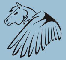 Tribal Pegasus Kids Clothes