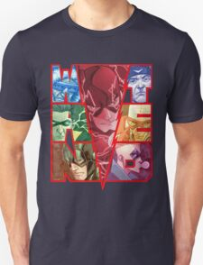Run and Hide in Central City Unisex T-Shirt