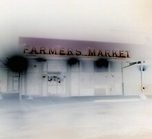 Farmers Market - evening by RedLightRavine