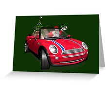 Santa Claus In Mini Greeting Card