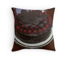 A Very Special Birthday Cake Throw Pillow