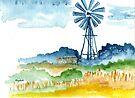 Windmill nr.  6 by Elizabeth Kendall