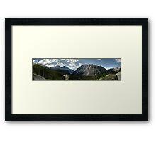 Saskatchewan Crossing Framed Print