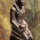 Germany. Berlin. Egyptian Museum. Sculpture of Pharaoh. by vadim19