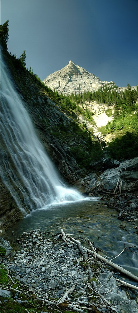 Ribbon Falls by Keith Doucet