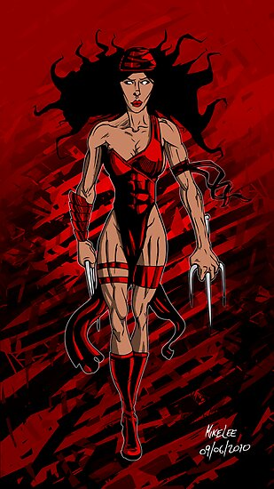 Elektra 2 - Colour by Michael Lee