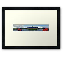 Fortress Louisbourg, Cape Breton Nova Scotia Framed Print