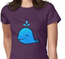 WHALE! Womens Fitted T-Shirt