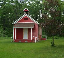 Little Red Schoolhouse by BarbL