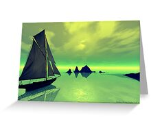 Mysterious Voyage Greeting Card