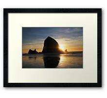 Cannon Beach, OR Framed Print