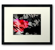invasion of pharq Framed Print