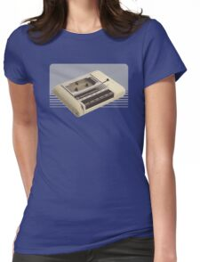The Power of the Datassette Womens Fitted T-Shirt