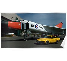 Miss Penny Lane and The Avro Arrow..... Poster