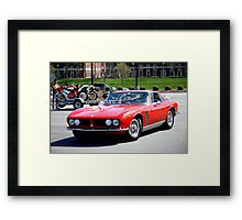 Iso Griffo Framed Print