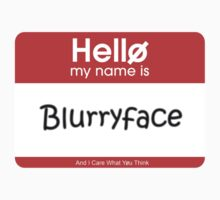 My Name's Blurryface Tag by Hannah Marland