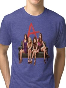 Pretty Little Liars Group Tri-blend T-Shirt