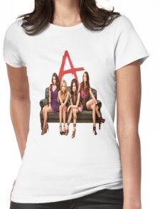 Pretty Little Liars Group Womens Fitted T-Shirt