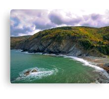 Meat Cove - Cape Breton Canvas Print
