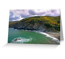 Meat Cove - Cape Breton Greeting Card