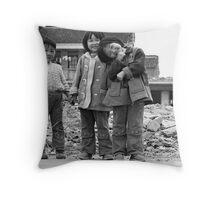4 in a Row  Throw Pillow