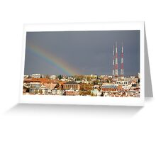 Calm after the storm Greeting Card