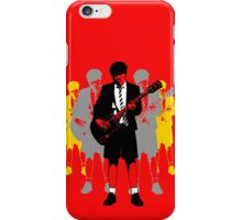 Taking the Lead - Angus Young iPhone Case/Skin