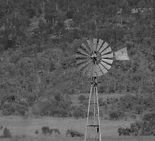 An Old Windmill - The Southern Cross by AlexKokas