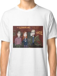 Librarians Heart Classic T-Shirt