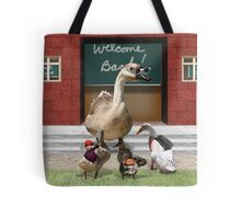 Back to School, my little ducklings! Tote Bag