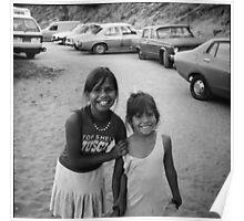Aboriginal Kids at Protest 3 Poster