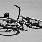 Bike on the Beach by Caren Grant