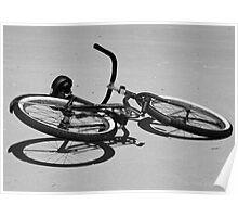 Bike on the Beach Poster