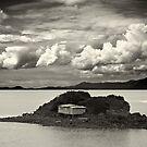 fishing shack by Bill vander Sluys
