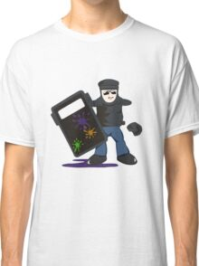The paint pot monitor Classic T-Shirt