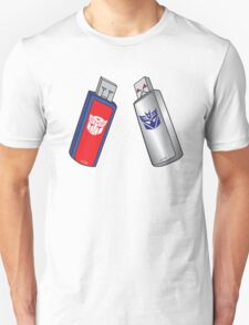 Transformers USB T-Shirt
