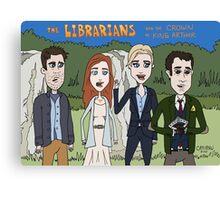 Librarians Crown Canvas Print