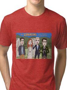Librarians Crown Tri-blend T-Shirt