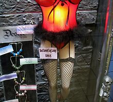 Red Corset Leg Lamp by PhoenixArt