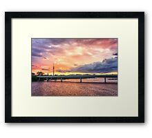 Heavenly Donau Framed Print