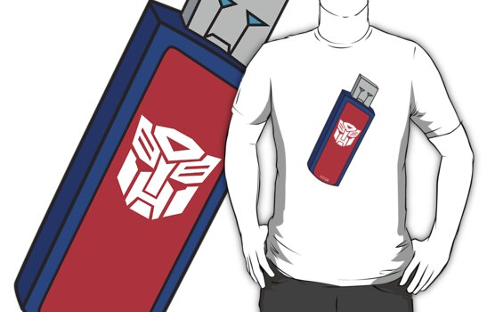 Optimus Prime USB by LaosPowerHouse