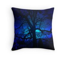 ~blue moon~ Throw Pillow