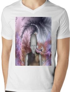 THE OLD CHAOS FAIRY Mens V-Neck T-Shirt