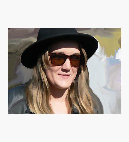 Black Hat Photographic Print