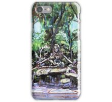 Alice in Wonderland statue, Central Park, NYC iPhone Case/Skin